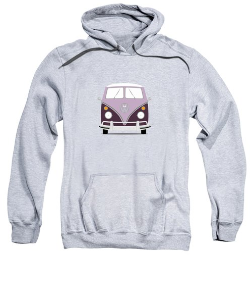 Vw Bus Purple Sweatshirt by Mark Rogan