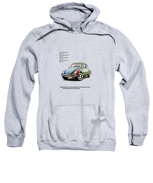 Vw Parts Sweatshirt by Mark Rogan