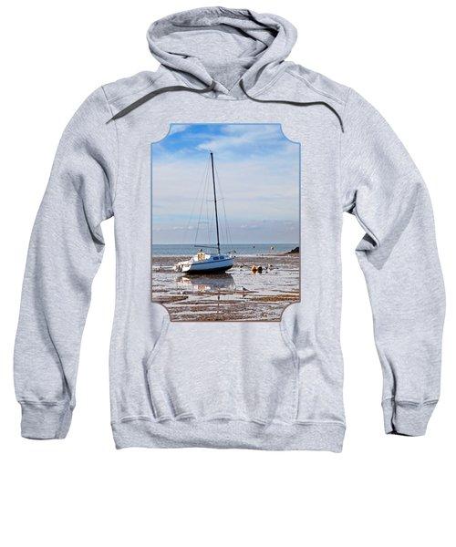 Waiting For High Tide Sweatshirt by Gill Billington