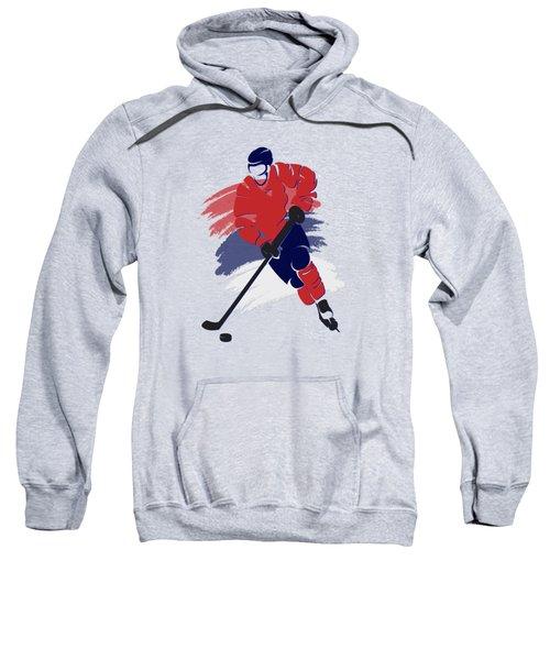 Washington Capitals Player Shirt Sweatshirt by Joe Hamilton