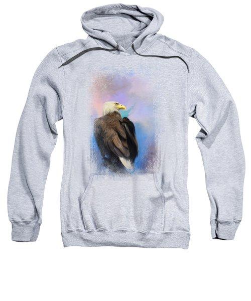 Watching Over The Heavens Sweatshirt by Jai Johnson