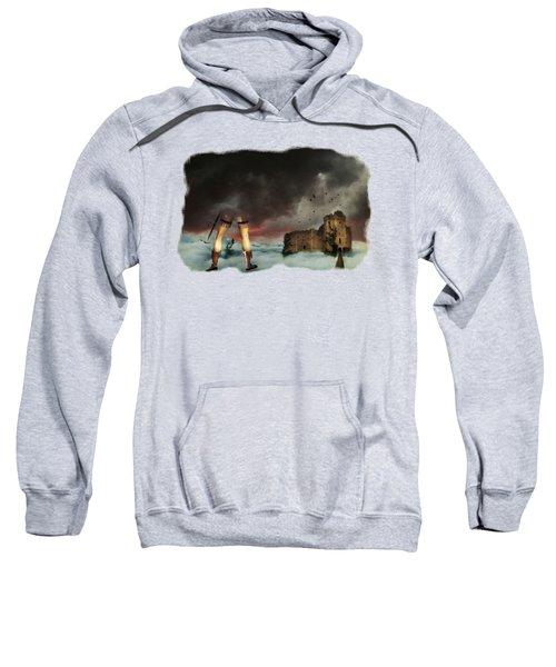 Where Giants Dwell Sweatshirt by Terry Fleckney
