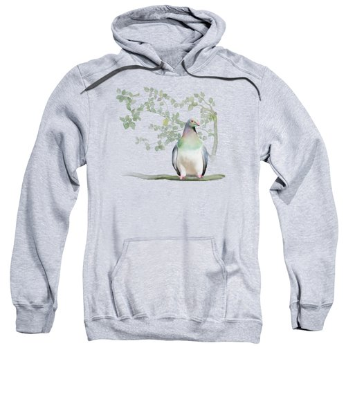 Wood Pigeon Sweatshirt by Ivana Westin