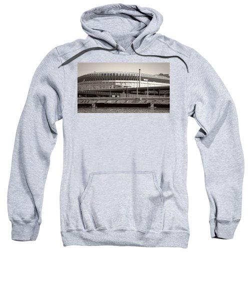 Yankee Stadium    1923  -  2008 Sweatshirt by Daniel Hagerman