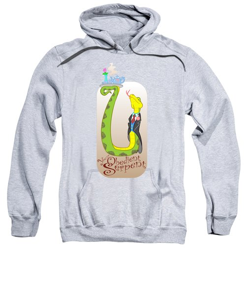Your Obedient Serpent Sweatshirt by J L Meadows