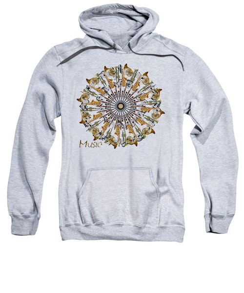 Zeerkl Of Music Sweatshirt by Edelberto Cabrera