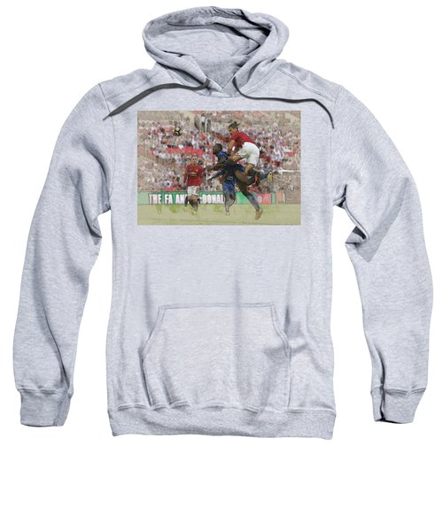 Zlatan Ibrahimovic Header Sweatshirt by Don Kuing