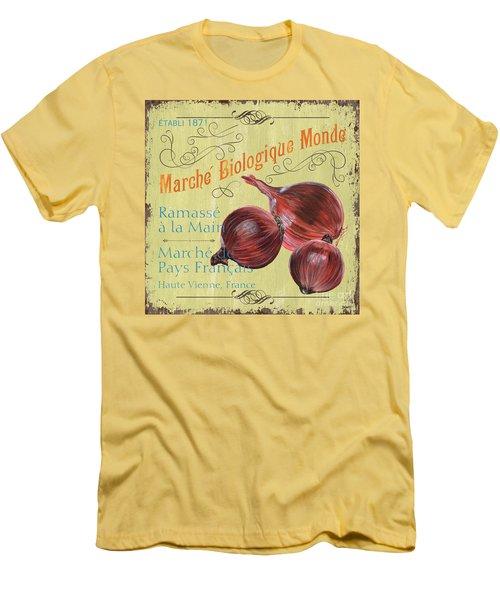 French Market Sign 4 Men's T-Shirt (Slim Fit) by Debbie DeWitt