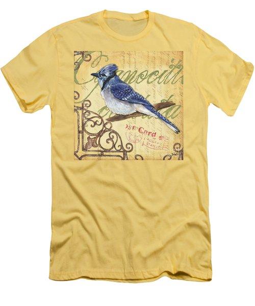 Pretty Bird 4 Men's T-Shirt (Slim Fit) by Debbie DeWitt