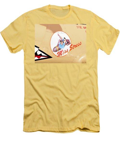 Miss Stress Men's T-Shirt (Slim Fit) by David Lee Thompson