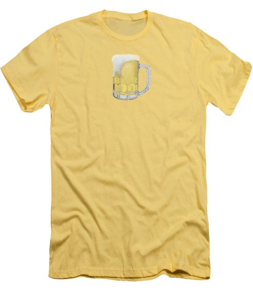 Beer Men's T-Shirt (Slim Fit) by Priscilla Wolfe
