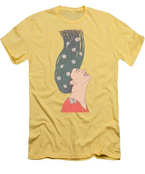 Serendipity Men's T-Shirt (Slim Fit) by Freshinkstain