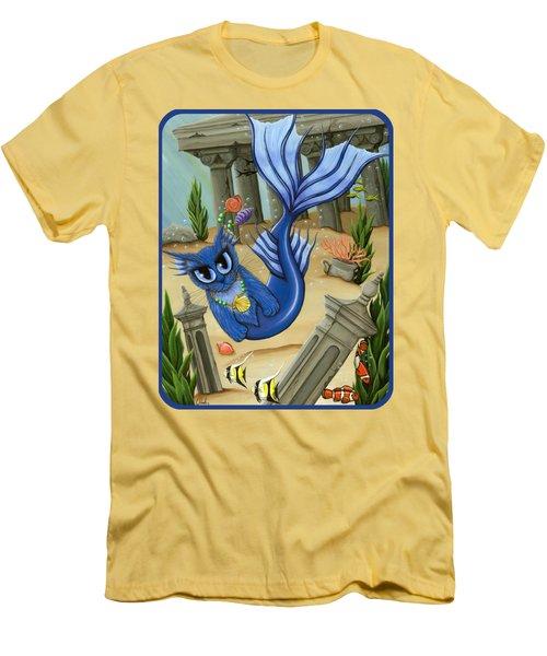 Atlantean Mercat Men's T-Shirt (Slim Fit) by Carrie Hawks
