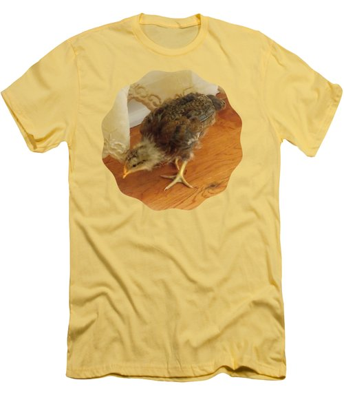 Chic Chickie Men's T-Shirt (Slim Fit) by Anita Faye