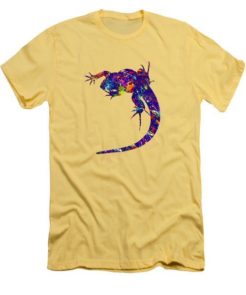 Colourful Lizard -2- Men's T-Shirt (Slim Fit) by Bamalam  Photography