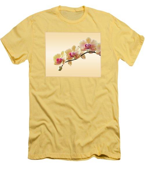 Cream Delight Men's T-Shirt (Slim Fit) by Gill Billington