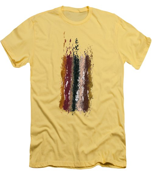 Exclamations 1 Men's T-Shirt (Slim Fit) by Lori Kingston