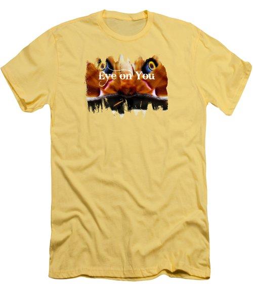 Eye On You Men's T-Shirt (Slim Fit) by Anita Faye