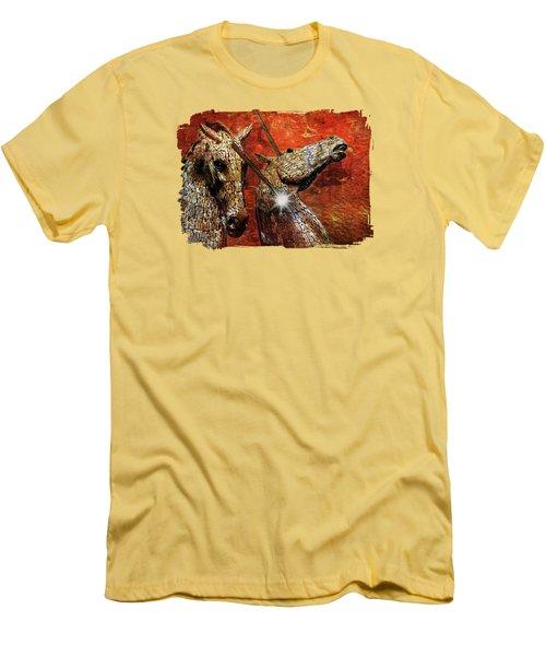 I Believe Men's T-Shirt (Slim Fit) by Terry Fleckney