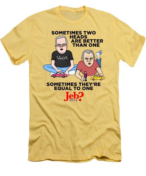 Jebbbers Men's T-Shirt (Slim Fit) by Sean Corcoran