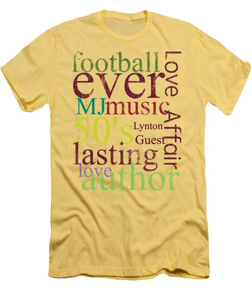 Lynton Guest Men's T-Shirt (Slim Fit) by D Francis