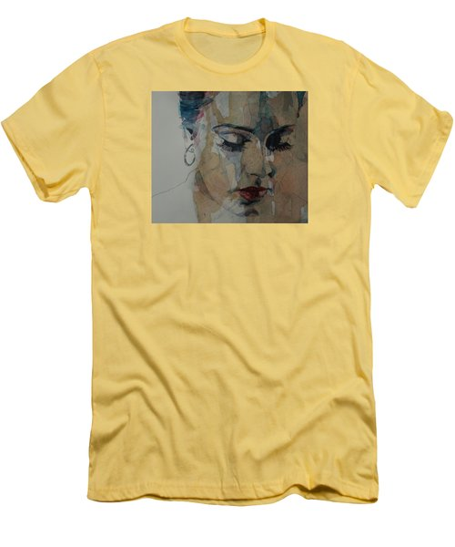 Make You Feel My Love Men's T-Shirt (Slim Fit) by Paul Lovering