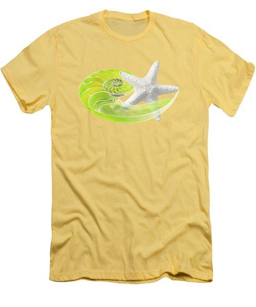 Ocean Fresh Men's T-Shirt (Slim Fit) by Gill Billington