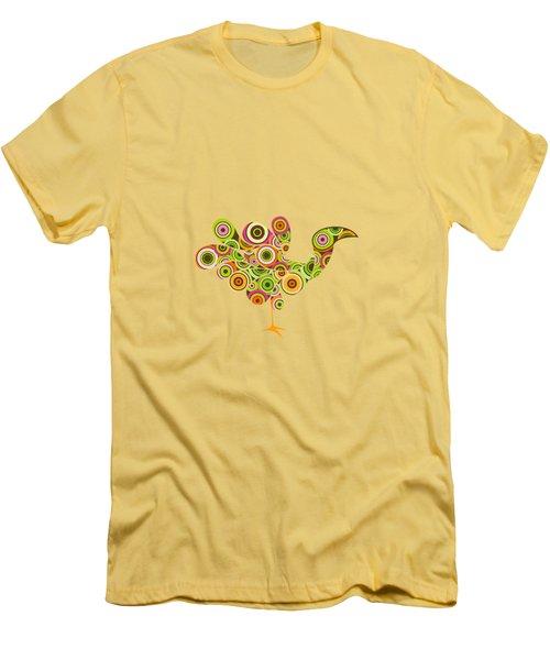 Peafowl Men's T-Shirt (Slim Fit) by BONB Creative
