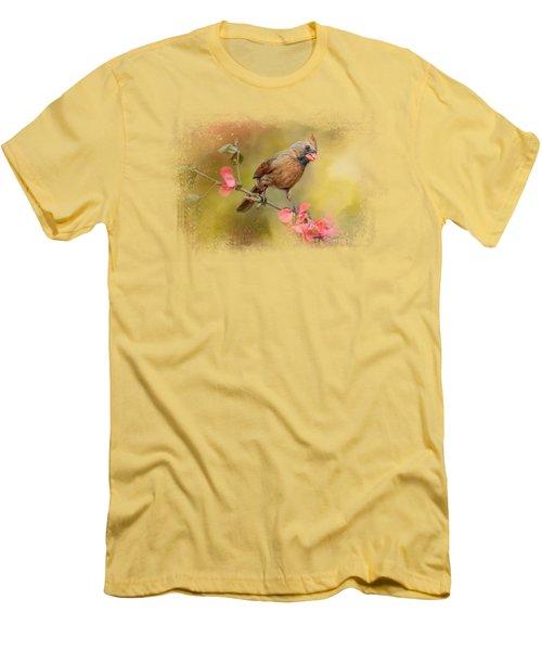 Spring Cardinal 1 Men's T-Shirt (Slim Fit) by Jai Johnson