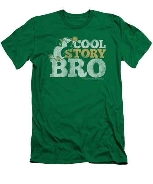 Chilly Willy - Cool Story Men's T-Shirt (Slim Fit) by Brand A