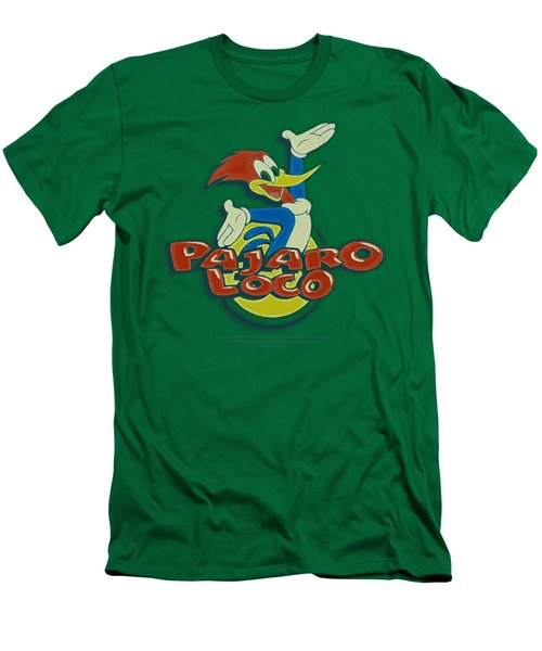 Woody Woodpecker - Loco Men's T-Shirt (Slim Fit) by Brand A
