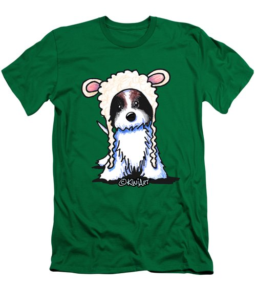 Coton De Tulear Men's T-Shirt (Slim Fit) by Kim Niles