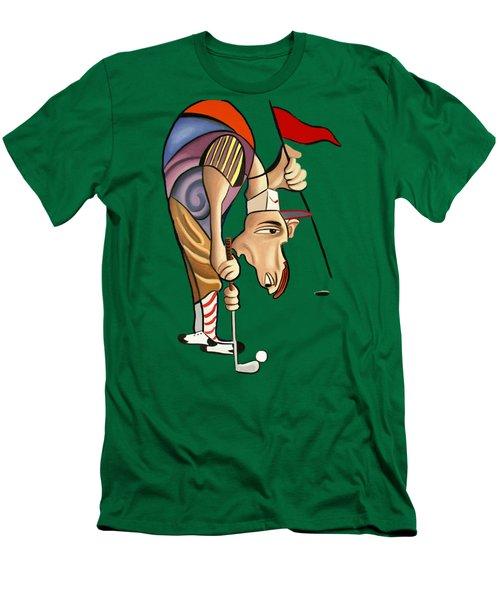 Par For The Course T-shirt Men's T-Shirt (Slim Fit) by Anthony Falbo