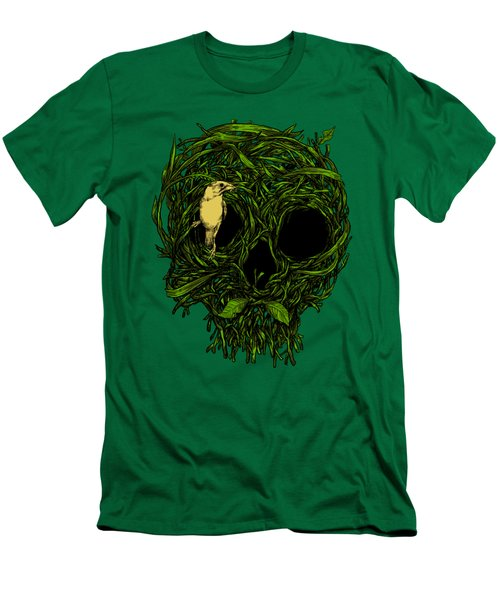 Skull Nest Men's T-Shirt (Slim Fit) by Carbine