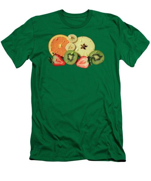 Wet Fruit Men's T-Shirt (Slim Fit) by Shane Bechler