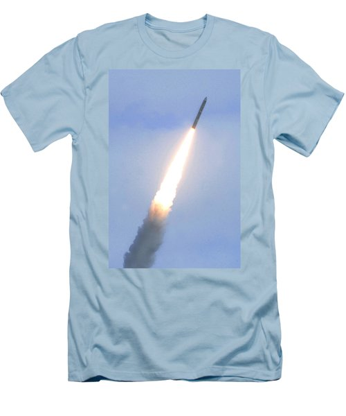Minotaur Iv Lite Launch Men's T-Shirt (Slim Fit) by Science Source