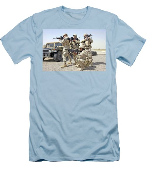 Men's T-Shirt (Slim Fit) featuring the photograph Air Force Squadron by Science Source