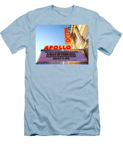 At The Apollo Men's T-Shirt (Slim Fit) by Ed Weidman
