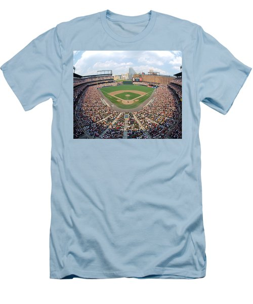Camden Yards Baltimore Md Men's T-Shirt (Slim Fit) by Panoramic Images
