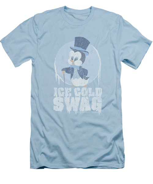 Chilly Willy - Ice Cold Men's T-Shirt (Slim Fit) by Brand A