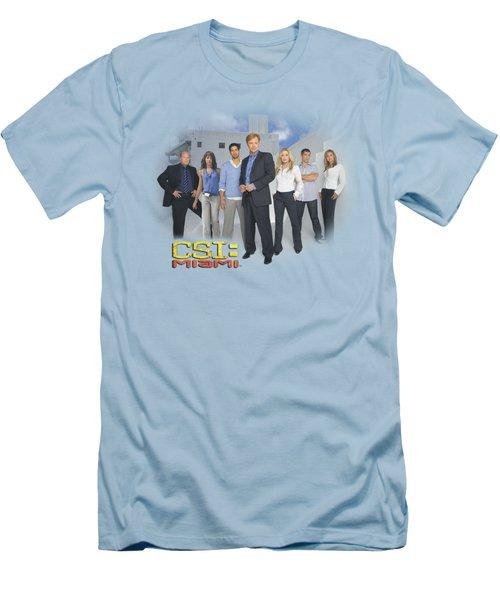 Csi - Miami Cast Men's T-Shirt (Slim Fit) by Brand A