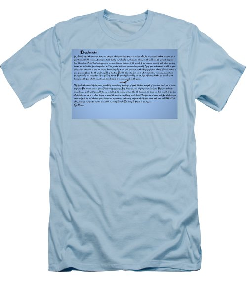 Desiderata Men's T-Shirt (Slim Fit) by Bill Cannon