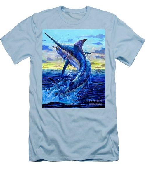 Grander Off007 Men's T-Shirt (Slim Fit) by Carey Chen
