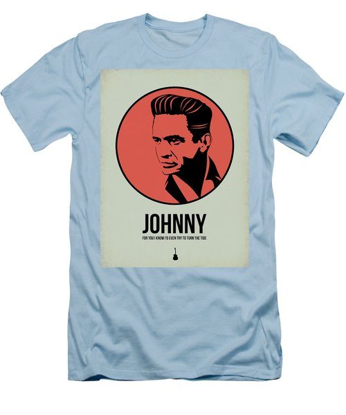 Johnny Poster 2 Men's T-Shirt (Slim Fit) by Naxart Studio