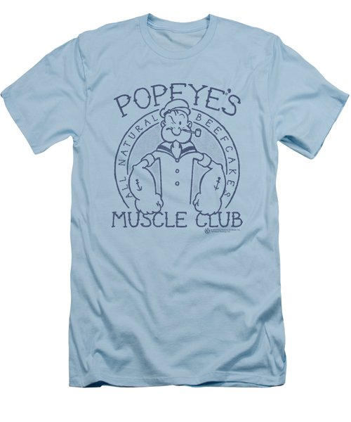 Popeye - Muscle Club Men's T-Shirt (Slim Fit) by Brand A