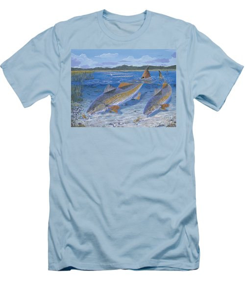 Red Creek In0010 Men's T-Shirt (Slim Fit) by Carey Chen