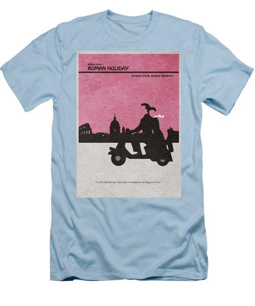Roman Holiday Men's T-Shirt (Slim Fit) by Ayse Deniz