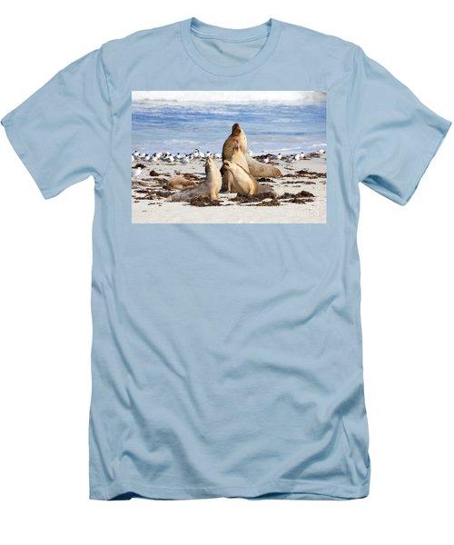 The Choir Men's T-Shirt (Slim Fit) by Mike Dawson