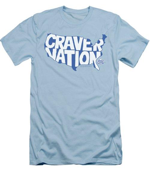White Castle - Craver Nation Men's T-Shirt (Slim Fit) by Brand A
