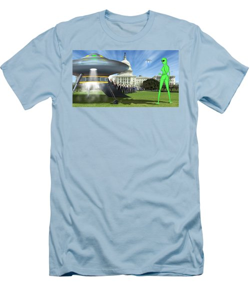 Wip - Washington Field Trip Men's T-Shirt (Slim Fit) by Mike McGlothlen